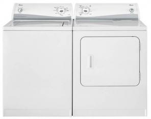BRAND NEW CONDITION AMANA WASHER AND DRYER COMBO SET 725