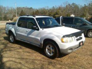 2001 Ford Explorer Sportrac Pickup Truck